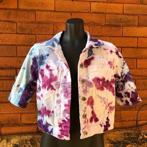One World tie dye jacket S
